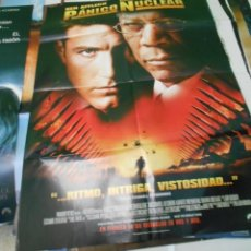 Cine: PANICO NUCLEAR CARTEL POSTER CINE ORIGINAL 70X100 CMS. Lote 183566183
