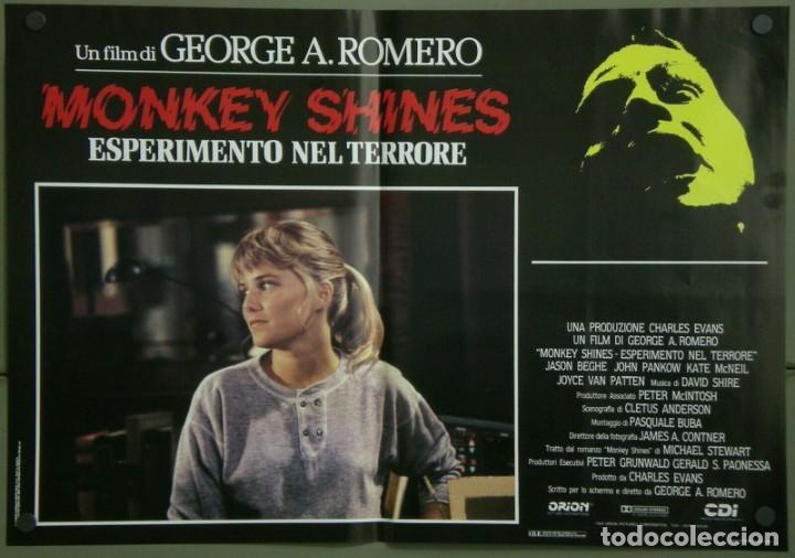 TZ16D ATRACCION DIABOLICA GEORGE A. ROMERO TERROR SET 8 POSTERS ORIGINALES ITALIANOS 47X68 (Cine - Posters y Carteles - Terror)