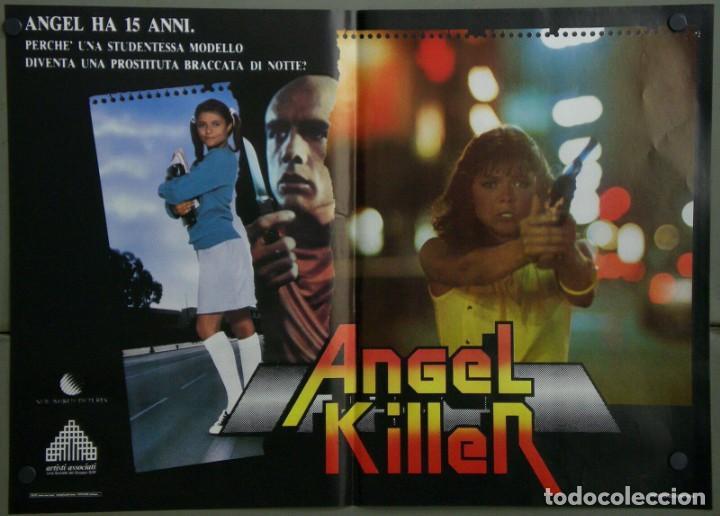 UR42D ANGEL DONNA WILKES SUSAN TYRRELL CULT SET 6 POSTERS ORIGINALES ITALIANOS 47X68 (Cine - Posters y Carteles - Terror)