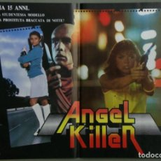 Cine: UR42D ANGEL DONNA WILKES SUSAN TYRRELL CULT SET 6 POSTERS ORIGINALES ITALIANOS 47X68. Lote 183578930