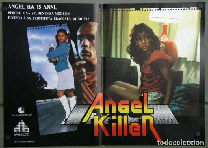 Cine: UR42D ANGEL DONNA WILKES SUSAN TYRRELL CULT SET 6 POSTERS ORIGINALES ITALIANOS 47X68 - Foto 2 - 183578930