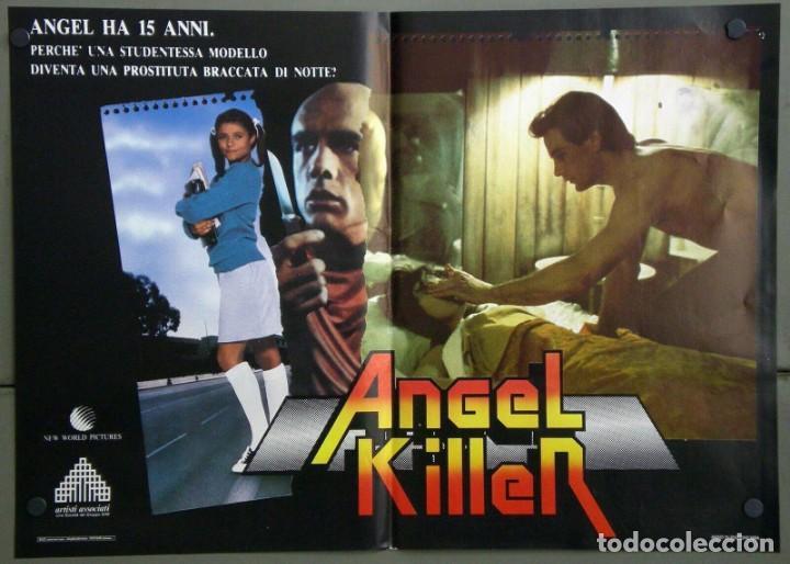 Cine: UR42D ANGEL DONNA WILKES SUSAN TYRRELL CULT SET 6 POSTERS ORIGINALES ITALIANOS 47X68 - Foto 5 - 183578930