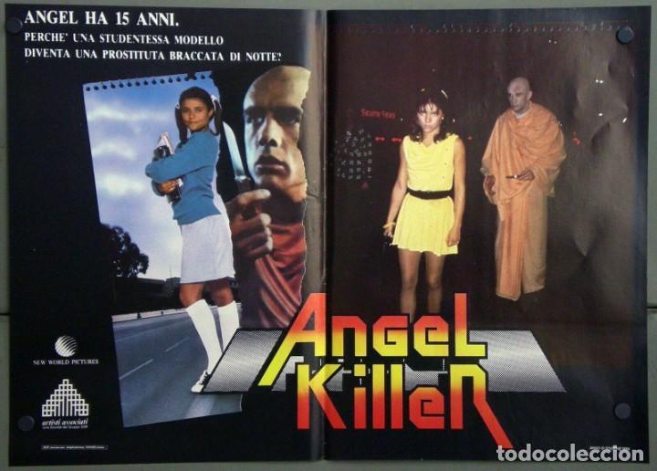 Cine: UR42D ANGEL DONNA WILKES SUSAN TYRRELL CULT SET 6 POSTERS ORIGINALES ITALIANOS 47X68 - Foto 6 - 183578930