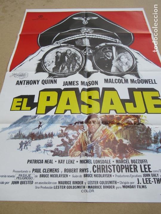 EL PASAJE 100 X 70 CM. PEDIDO MÍNIMO 5 EUROS (Cine - Posters y Carteles - Bélicas)