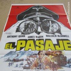 Cinéma: EL PASAJE 100 X 70 CM. PEDIDO MÍNIMO 5 EUROS. Lote 183583951