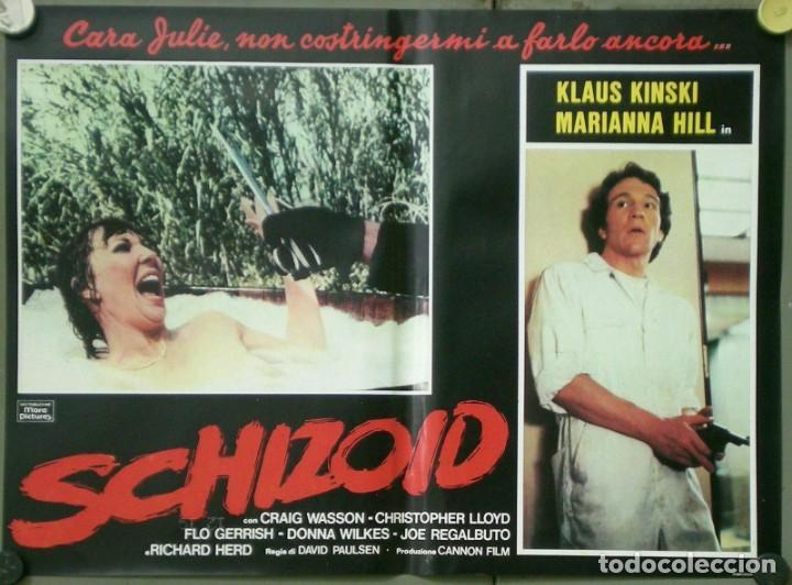 Cine: UR53D PSICOPATA KLAUS KINSKI DONNA WILKES MARIANA HILL SET 6 POSTERS ORIGINALES ITALIANOS 47X68 - Foto 6 - 183584408