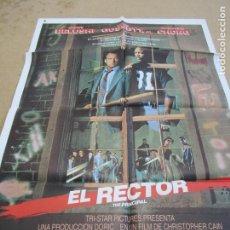 Cine: EL RECTOR 100 X 70 CM. PEDIDO MÍNIMO 5 EUROS. Lote 183588032