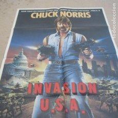 Cinéma: INVASIÓN U.S.A. 100 X 70 CM. PEDIDO MÍNIMO 5 EUROS. Lote 183590775