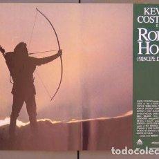 Cine: 3ET35D ROBIN HOOD PRINCIPE DE LOS LADRONES KEVIN COSTNER SET 6 POSTERS ORIGINALES ITALIANOS 47X68. Lote 183620888