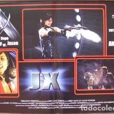 Cine: ES78D JASON X VIERNES 13 10 CHUCK CAMPBELL SET 4 POSTERS ORIGINALES ITALIANOS 47X68. Lote 183624248