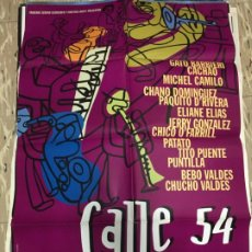 Cine: CARTEL ORIGINAL CINE 70 X 100 CM APROX FERNANDO TRUEBA CALLE 54. Lote 183637392