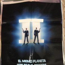 Cine: CARTEL ORIGINAL CINE 70 X 100 CM APROX WILL SMITH MEN IN BLACK (HOMBRES DE NEGRO) II. Lote 183638018