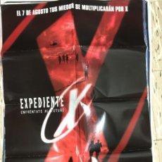 Cinema: CARTEL ORIGINAL CINE 70 X 100 CM APROX DAVID DUCHOVNY EXPEDIENTE X: ENFRÉNTATE AL FUTURO. Lote 183643351