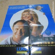 Cine: LUNA LLENA EN AGUA AZUL 100 X 70 CM. PEDIDO MÍNIMO 5 EUROS. Lote 183714506