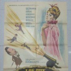 Cine: LOS QUE NO FUIMOS A LA GUERRA - POSTER ORIGINAL CINE 1964.. Lote 183735748