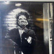 Cine: THE TEXAS CHAINSAW MASACRE - LA MATANZA DE TEXAS. CARTEL ORIGINAL DE LA PELÍCULA DE 1974.. Lote 183813853