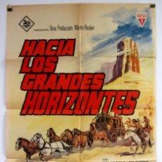 Cine: HACIA LOS GRANDES HORIZONTES. ANN-MAGRET, RED BUTTONS. CARTEL ORIGINAL DE ESTRENO (1996).. Lote 183814350