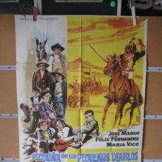 Cine: LOTE DE 200 CARTELES DE CINE ORIGINALES HAY DE TODO AÑOS 60 70 Y 80. Lote 183869487