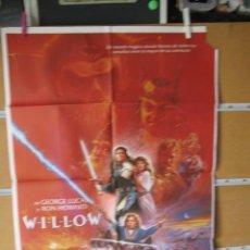 Cine: POSTER DE CINE ORIGINAL WILLOW. Lote 183869530