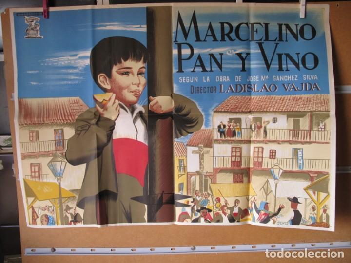 POSTER DE CINE ORIGINAL MARCELINO PAN Y VINO (Cine - Posters y Carteles - Aventura)