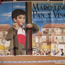 Cine: POSTER DE CINE ORIGINAL MARCELINO PAN Y VINO. Lote 183869551