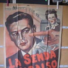 Cine: POSTER DE CINE ORIGINAL LA SENDA AL CADALSO. Lote 183869591