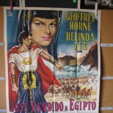 Cine: POSTER DE CINE ORIGINAL JOSE VENDIDO A EGIPTO. Lote 183869601