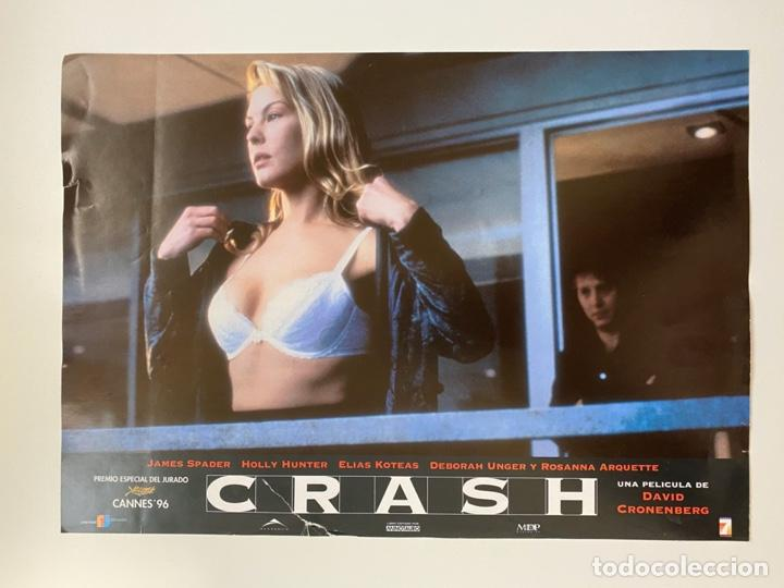 AFICHE DE CINE. PELICULA CRASH. MEDIDAS APROX.: 33 X 24 CM (Cine - Posters y Carteles - Acción)