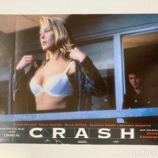 Cine: AFICHE DE CINE. PELICULA CRASH. MEDIDAS APROX.: 33 X 24 CM. Lote 183930907