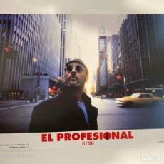 Cinema: AFICHE DE CINE. PELICULA EL PROFESIONAL (LEON). MEDIDAS APROX.: 33.5 X 24.5 CM. Lote 183937760