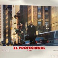 Cinema: AFICHE DE CINE. PELICULA EL PROFESIONAL (LEON). MEDIDAS APROX.: 33.5 X 24.5 CM. Lote 183937773