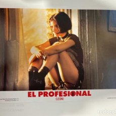 Cinema: AFICHE DE CINE. PELICULA EL PROFESIONAL (LEON). MEDIDAS APROX.: 33.5 X 24.5 CM. Lote 183937875