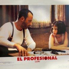 Cinema: AFICHE DE CINE. PELICULA EL PROFESIONAL (LEON). MEDIDAS APROX.: 33.5 X 24.5 CM. Lote 183937882