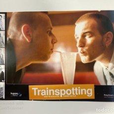 Cinéma: AFICHE DE CINE. PELICULA TRAINSPOTTING. DANNY BOYLE. MEDIDAS APROX.: 33.5 X 24.5 CM. Lote 183938575