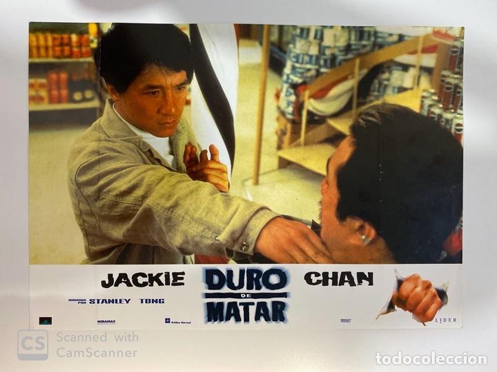 AFICHE DE CINE. PELICULA: DURO DE MATAR. JACKIE CHAN. MEDIDAS APROX.: 34 X 24 CM (Cine - Posters y Carteles - Suspense)