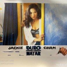 Cinema: AFICHE DE CINE. PELICULA: DURO DE MATAR. JACKIE CHAN. MEDIDAS APROX.: 34 X 24 CM. Lote 183951516