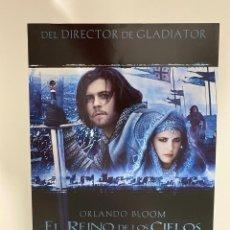 Cine: AFICHE DE CINE. PELICULA: EL REINO DE LOS CIELOS. ORLANDO BLOOM. MEDIDAS APROX.: 21 X 30 CM. Lote 183952593