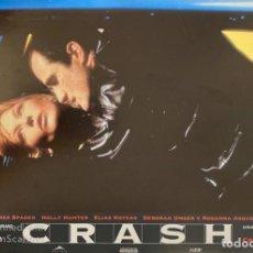 Cine: AFICHE DE CINE. PELICULA: CRASH. PELICULA DE DAVID CRONENBERG. MEDIDAS APROX.: 34 X 24 CM. Lote 183953485
