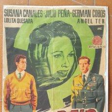 Cine: CARTEL PELICULA RETORNO A LA VERDAD, SUSANA CANALES, JULIO PEÑA, GERMAN COBOS 98 X 68 CM, POSTER. Lote 184048226