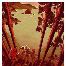 Cine: THE GOONIES . LÁMINA CARTEL. 45 X 32 CMS.. Lote 184257688