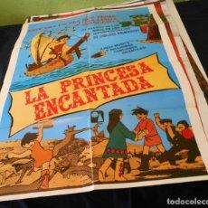 Cine: LA PRINCESA ENCANTADA CARTEL POSTER CINE ORIGINAL 70X00 CMS. Lote 266701378