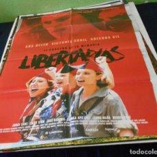 Cine: LIBERTARIAS CARTEL POSTER CINE ORIGINAL 70X00 CMS. Lote 184273230