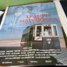Cine: TRANVIA A LA MALVARROSA CARTEL POSTER CINE ORIGINAL 70X00 CMS. Lote 214017115