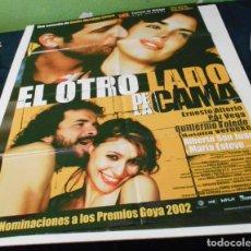 Cine: EL OTRO LADO DE LA CAMA CARTEL POSTER CINE ORIGINAL 70X100 CMS. Lote 184275352
