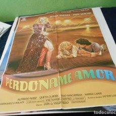 Cine: PERDONAME AMOR CARTEL POSTER CINE ORIGINAL 70X100 CMS. Lote 184275982