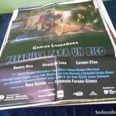 Cine: PESADILLA PARA UN RICO CARTEL POSTER CINE ORIGINAL 70X100 CMS. Lote 184276452