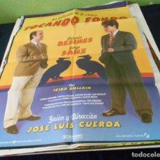 Cine: TOCANDO FONDO CARTEL POSTER CINE ORIGINAL 70X100 CMS. Lote 184276661