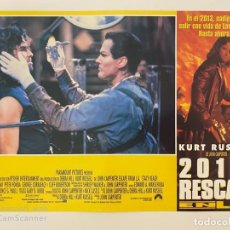 Cine: AFICHE DE CINE. PELICULA: 2013: RESCATE. KURT RUSSELL. MEDIDAS APROX.: 34 X 24 CM. Lote 184304456