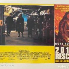 Cine: AFICHE DE CINE. PELICULA: 2013: RESCATE. KURT RUSSELL. MEDIDAS APROX.: 34 X 24 CM. Lote 184304486