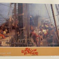 Cine: AFICHE DE CINE. PELICULA: LA BATALLA DE LOS TRES REYES. MEDIDAS APROX.: 34 X 24 CM. Lote 184312188